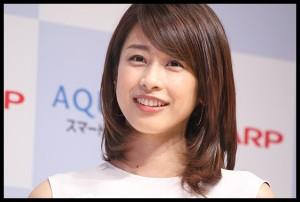 【動画】スマホAQUOS(アクオス)CMの加藤綾子(カトパン)がカップ強調で可愛い!曲は?