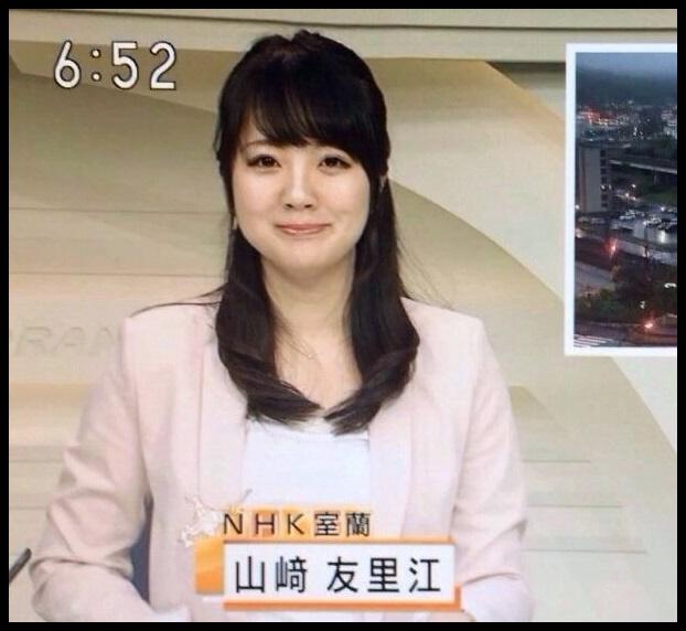 愛人クラブ嬢のNHK山崎友里江アナが可愛い!カップは?【画像】