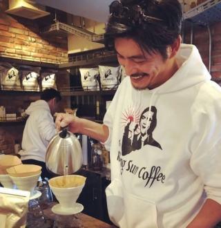 坂口憲二 ザ・ライジングサンコーヒー The rising sun coffee