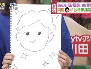 川田裕美アナ 結婚相手 顔画像